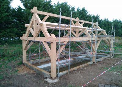 charpente-traditionnelle-lavoir-Sarthe-Couarde